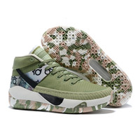 Wholesale low kd shoes for men resale online - Durant Basketball Kevin Kd New Men Shoes Kds s for Mens Black Green Camo Soles Home Arrival Authentic Trainers Shoes Sneakers