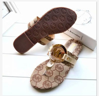 Wholesale channel sandals resale online - Luxury designer Women Slippers Summer Slip On Flat Slides Beach Thong Shoes LVmale LòuisVuittòn Brand Flip Flops Fashion sandals channel