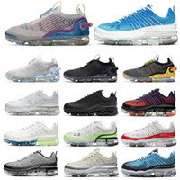 Wholesale sports sneakers resale online - 2020 new arrival men women running shoes triple black white laser blue summit university red mens trainers sports sneakers runners