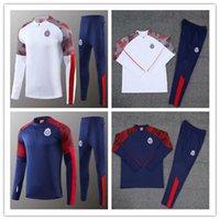 Wholesale mexico training suit resale online - 2020 Chivas de Guadalajara soccer tracksuit Survetement Mexico America Chivas football training Suit sportswear set
