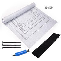 Wholesale puzzle games material resale online - Jigsaw Roll Jigsaw Storage Felt Mat Environmental Protection Materials Puzzle Game mat with Drawstring Storage Bag
