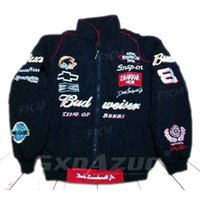 Wholesale moto racing jacket for sale - Group buy European Size F1 Jacket Uniesx Embroidery Cotton Winter Full Sleeve Moto GP Racing Jacket Chasing Hip Hop Casual Wild Dream Racing Jacket