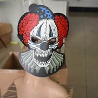 Wholesale skull control for sale - Group buy Halloween Fashion Cool Led Voice Control Luminous El Cold Light Skull Horror Mask