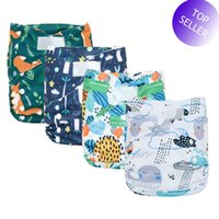 Wholesale xl baby diapers for sale - Group buy HappyFlute Big XL Pocket Diaper for Baby Years And Older Suede Cloth Inner Stay Dry Size Adjustable Fits Waist cm
