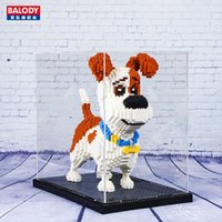 Wholesale box mini figures for sale - Group buy Balody Diamond Building Blocks Dust Cover Mini Blocks For Animal Action Figure Special Acrylic Transparent Display Box bbywON homebag
