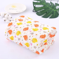 105*105cm 6 Layers Baby Blankets Newborn Super Soft Baby Swaddle Blankets 100% Muslim Gauze Cotton Muslin Swaddle Bath Towel Y201009