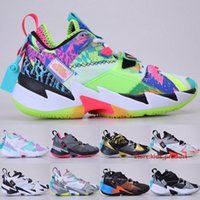 Wholesale shoes young for sale - Group buy Jumpman Why Not Zer0 Basketball Shoes Young Boys Russell Sneakers Splash Zone UNITE Hearbeat Noise Mens Womens Trainers Size