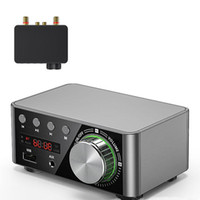 HIFI Bluetooth 5.0 Digital Power Audio Board 50WX2 Stereo AMP Amplificador Home Theater USB TF Card Player