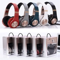 Wholesale headset mic ipad for sale - Group buy Wireless Headphones Bluetooth Headset Foldable Earphone Deep Bass Headphones With Mic TF Card For iPhone iPad Mobile Phone