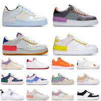сверху темно  оптовых-Top Dunk 1 men women fashion platform sneakers utility black triple white volt red olive Flax high low cut mens basketball skateboard shoes