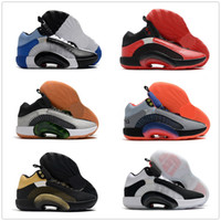 Wholesale boys red basketball shoes resale online - 2020 XXXV Center of Gravity WIP Culture a functional shoe Chicago Ushers In The Eclipse Plate Basketball Shoes Bayou Boys yakuda