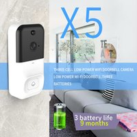 Wholesale smart phone x5 online – X5 Wireless WiFi DoorBell Smart Video Phone Visual Intercom Way Talk Door Bell