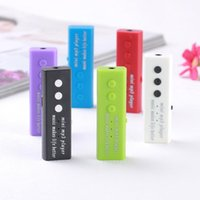 Wholesale mini plastic clip mp3 player for sale - Group buy 1PCs Mini USB Clip Sports Mp3 Digital Mp3 Music Player Support GB SD TF Card GD Ideal Gifts Mini Portable Plastic Player