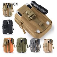 Wholesale phone waist pouch resale online - Universal Outdoor Tactical Military Holster Waist Phone Bag Pouch Case for Maze Alpha Cagabi One Caterpillar CAT S60 Cat S31 S41