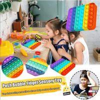 Tiktok H.OT Push Bubble Sensory Fidget Party Favor Anxiety Toys Stress Relief Special Needs Silent Classroom Autism Kids Ball