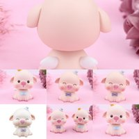 Wholesale pig tags for sale - Group buy dBzhk Wooden Christmas pig Ornaments cute Delicate Tree Christmas Hanging Tag Decorations Assorted Style Mixing