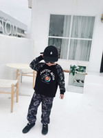 Wholesale cool baby boy clothing for sale - Group buy Autumn Baby Boys Hoodies Children cotton Long Sleeves Sweatshirts Kids Girl Clothes Cool