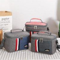 Wholesale cooler bags resale online - Small Cooler Bag Protable Fridge Oxford Refrigerator Bag EVA Insulated Picnic Bag Isothermal Cooler Icer Box