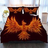 Wholesale fire birds for sale - Group buy Bedding Piece Duvet Cover Sets Fire Bird Duvet Cover Designer Bed Comforters Sets