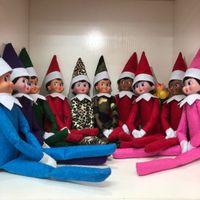 Wholesale elves plush toys resale online - 10 Styles Christmas Elf Doll Plush toys Elves Santa dolls Clothes on the shelf For Christmas Gift HOT SELL
