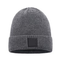 Wholesale polo beanies resale online - Mens Beanie Winter Wool Hat New Fashion Womens Knitted Thicken Warm Polo Beanie Bonnet Cap