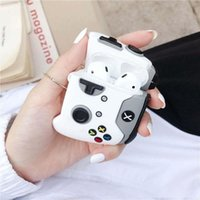 Wholesale cases gaming resale online - For AirPod Case Cover gaming handle design with Belt for Airpods1 Airpod Pro Creative Cartoon Earphone Case Earpod Case