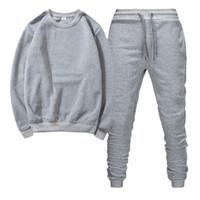 2020 designer Fitness Tracksuit men's suit hooded track and field sportswear mens Autumn winter sweates portswear mens sweatshirt sweatpants
