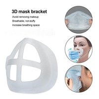 3D Mask Bracket Lipstick Protection Stand Rails Inner Pad Enhancing Breathing Smoothly Cool Face Holder DHL Free
