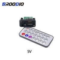Wholesale electronics for u online – Consumer Electronics Mini MP3 Audio Decoder Board V V USB MP3 Player Lossless Decoding Module Support TF Card U Disk For Car