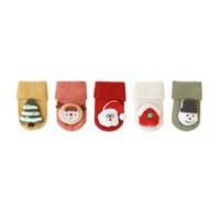 cute athletic shoes 2021 - Winter cotton baby socks Cartoon cute newborn socks Infant room socks baby shoes best sock baby clothes Infant clothing wholesale B3570
