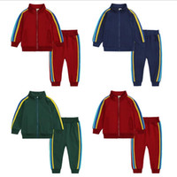 Children Boys Clothing set Baby Boy Sports Suits 2-6 Years Kids baby 2pcs Spring Autumn Clothes Tracksuits