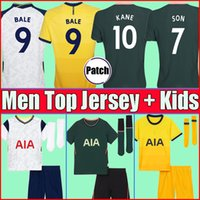 Wholesale 20 KANE SON BERGWIJN Soccer Jerseys LUCAS SPURS DELE TOTTENHAM Football kit shirt BALE NDOMBELE tops Men kids sets boys socks