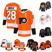 Wholesale flyers jersey claude giroux for sale - Group buy Custom Philadelphia Flyers Claude Giroux Carter Hart Shayne Gostisbehere Gritty Travis Konecny Ivan Provorov Hockey Jersey Stitched