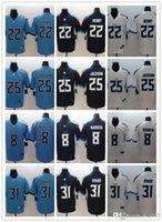 Wholesale derrick henry resale online - Mens Womens Youth Tennessee Titans Kevin Byard Derrick Henry Adoree Jackson Marcus Mariota Custom Football Jers