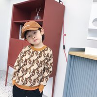 Wholesale children cashmere sweater resale online - Hot Sale Winter Kids girls Boys knitting Sweater Fashion Children Pullover Warm Sweater Baby Boy Clothes