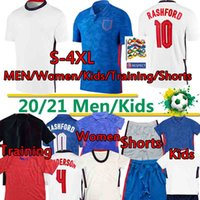 Wholesale England Kane soccer jerseys European Cup national team League RASHFORD Dele STERLING Home white Away Blue Mout football Men xl