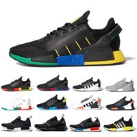 Wholesale city shoes resale online - Rio de Janeiro NMD R1 V2 Mens Running Shoes Mexico City Oreo OG Classic Aqua Tones Metallic Gold Men Women Sports Athletic Sneakers