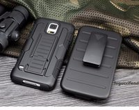 Wholesale galaxy s6 holster for sale – best For iphone S Plus S Galaxy S7 S6 edge S5 Robot Combo Heavy Duty Future Armor Kickstand Holster Belt Clip Case