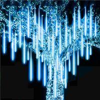 Wholesale raining led lights resale online - NEW cm cm Waterproof Meteor Shower Rain Tubes LED Lighting for Party Wedding Decoration Christmas Holiday LED Meteor Light KKA1594