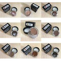 In stock ! New makeup Eyebrow Enhancers Pomade 11 colors Waterproof Eyebrow 4g ASH BROWN BLONDE CARAMEL DARK EBONY AUBURN shipping epacket