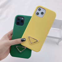 IPhone12 Mini Case Designer Triangle Print Pattern Is Suitable for Iphone 12 Pro Max 11 Xr Xs Max 7 8 Mobile Phone Protection Case-