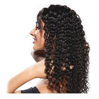 Wholesale prices curly wigs resale online - Brazilian Curly Lace Wig Deep Wave Full Lace Human Hair Wigs With Baby Hair Factory Price Lace Wigs Deep Wave