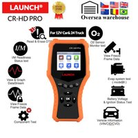 Wholesale X431 CR HD Pro v car v truck diangnostic tool full obd2 code reader Scanner battery voltage test pk CR3001 CR3008
