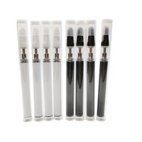 Wholesale bud time for sale - Group buy 510 wickless glass cartridge vape pen disposable vaporizer mini e cigarette mah battery build in rechargeable bud pen one time use