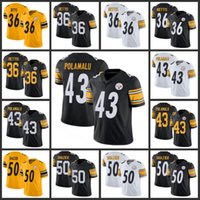 Wholesale 36 jersey resale online - Pittsburgh Steelers Men Jerome Bettis Troy Polamalu Ryan Shazier Men Women Youth Stitched Season Vapor Limited Jersey