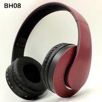 Wholesale tv cell phone bluetooth for sale – best Bluetooth Headphones Over Ear Stereo Wireless Headset Soft Leather Earmuffs Built in Mic for PC Cell Phones TV Sport Earphone