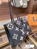 Wholesale color block tote bag resale online - New arrivals luxurys designers bag Onthego presbyopia Cortex Embossing Color block tote bag Hand shopping bag