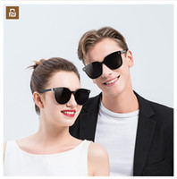 Wholesale polaroid sheets resale online - New Youpin ANDZ trend plate sunglasses Block UVA U high quality translucent sheet