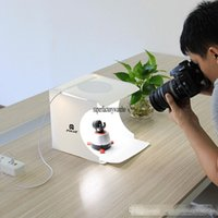 Wholesale studio equipment for sale - Group buy Portable folding LED studio mini photography light box small camera props equipment