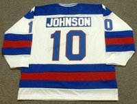 Wholesale olympics ice hockey resale online - Cheap Custom Retro MARK JOHNSON USA Olympic Home Hockey Jersey Men s Stitched Any Size XS XL XL Name Or Number